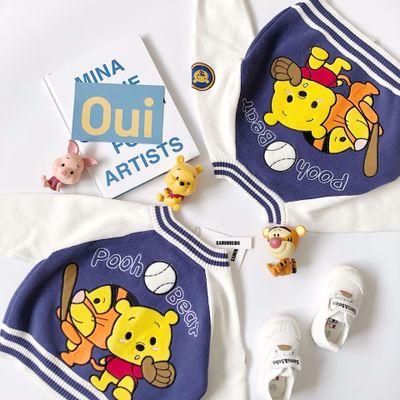 Áo khoác trẻ em  Một thế hệ của ka0911 mô hình hoạt hình vá thêu trẻ em áo dệt kim bóng chày áo khoá