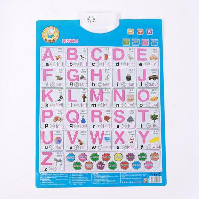 Đồ chơi luyện trí thông minh  Giáo dục trẻ em giáo dục sớm đồ chơi âm thanh biểu đồ tường giọng nói