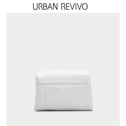 Túi xách nữ thời trang  UR ĐÔ LA REVIVO2019 phụ nữ mới mùa hè Phụ kiện da đơn giản Túi Messenger AG