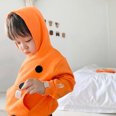Áo khoác trẻ em  2019 thu đông mới quần áo trẻ em bùng nổ mẫu áo len bốn màu áo len cardigan bé trai