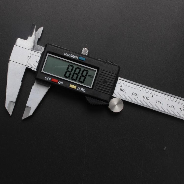 Thước kẹp điện tử Caliper kỹ thuật số caliper điện tử caliper caliper điện tử Vernier caliper 0-150m