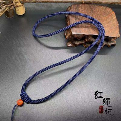 dây đeo Tay bó ngọc, màu xanh 4mm sợi dây treo cổ