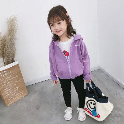 Quần trẻ em Quần jean nữ Lu Guli mùa thu 2019 Quần trẻ em trẻ em Hàn Quốc mới dành cho trẻ em