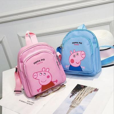 Cặp học sinh Hot Mô hình nổ siêu nhỏ xã hội túi đeo vai lợn trẻ em mới Túi nhỏ phiên bản Hàn Quốc củ