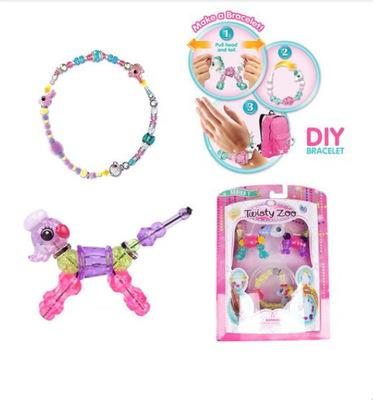 Thị trường đồ chơi Vòng đeo tay đa dạng châu Âu và Mỹ đồ chơi nổ TwistyPetz siêu dễ thương bất ngờ x