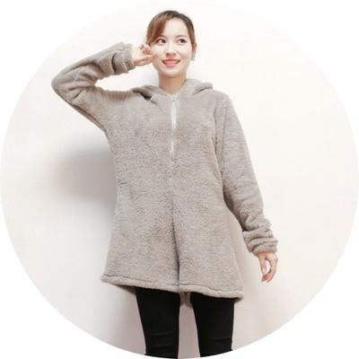 áo khoác Thu đông 2019 phiên bản Hàn Quốc của áo len mỏng giản dị dành cho nữ áo len trùm đầu kiểu j