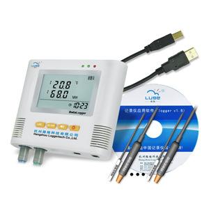 Đồng hồ đo nhiệt độ , độ ẩm Luger Dual máy ghi nhiệt độ và độ ẩm độ chính xác cao L95-4 +