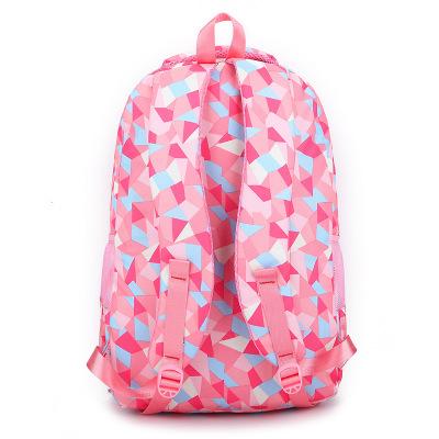 Cặp học sinh Hot Cá túi nữ tự nhiên đeo vai học sinh tiểu học 3-4-6 lớp ba lô giảm giá 8-12 tuổi