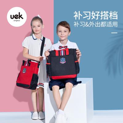 Cặp học sinh Hot Uek Anh tiểu học gia sư túi trẻ em đeo vai túi túi gói nghệ thuật ngoại khóa cuốn s