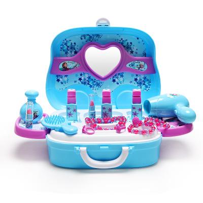 Thị trường đồ chơi Nhà máy trực tiếp trẻ em công chúa trang điểm xe hộp cô gái chơi nhà đồ chơi giáo