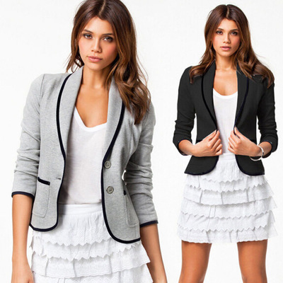 Áo khoác Ebay AliExpress Châu Âu và Mỹ Áo khoác nữ thương mại nước ngoài hoang dã áo khoác dài tay p