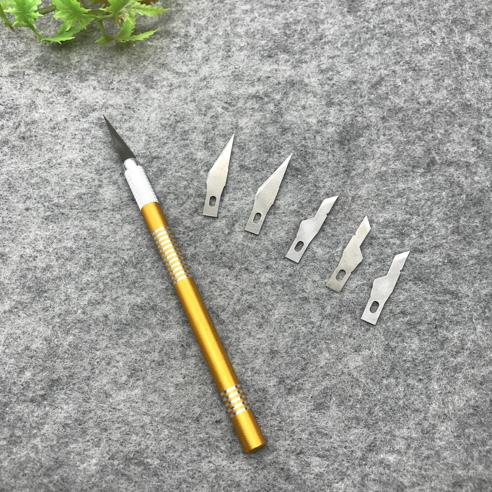 Dao điêu khắc Dao chế biến gỗ DIY hướng dẫn sử dụng nhỏ dao tiện ích điện thoại di động phim tháo rờ