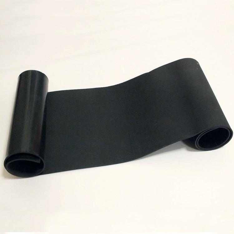 BINGYU Ván cao su công nghiệp cao su chịu mài mòn tấm cao su chịu dầu 3 mm ống dầu con dấu cách nhiệ