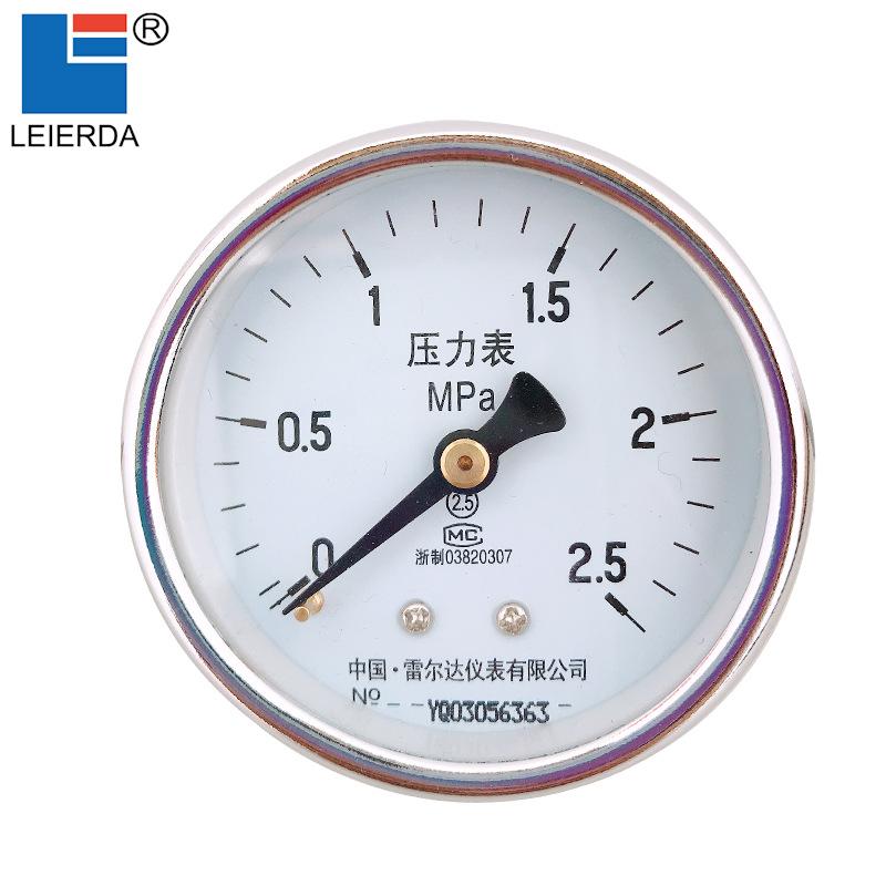 Đồng hồ đo áp suất Y60Z thủy lực đo áp lực dọc trục
