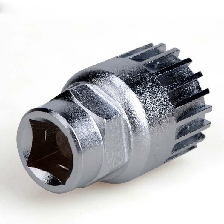 Dụng cụ bảo hộ Tay áo trục trung tâm 20 răng VP Tháo gỡ và lắp đặt công cụ trục Công cụ bảo trì trục