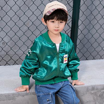 Áo khoác trẻ em  Đồng phục bóng chày trẻ em mùa xuân và mùa thu Phiên bản Hàn Quốc của cậu bé ngoại
