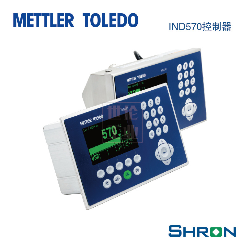 Bộ điều khiển quy trình dụng cụ cân METTLER TOLEDO IND570