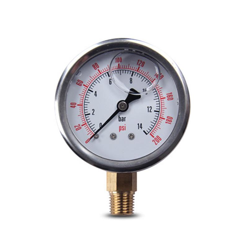 ZHENGDE Đồng hồ đo áp suất độ chính xác cao .