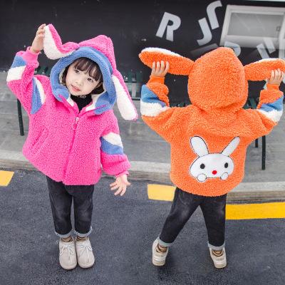 Áo khoác trẻ em  Quần áo trẻ em Mali mùa đông nam và nữ trẻ em trẻ em phiên bản Hàn Quốc của chiếc á