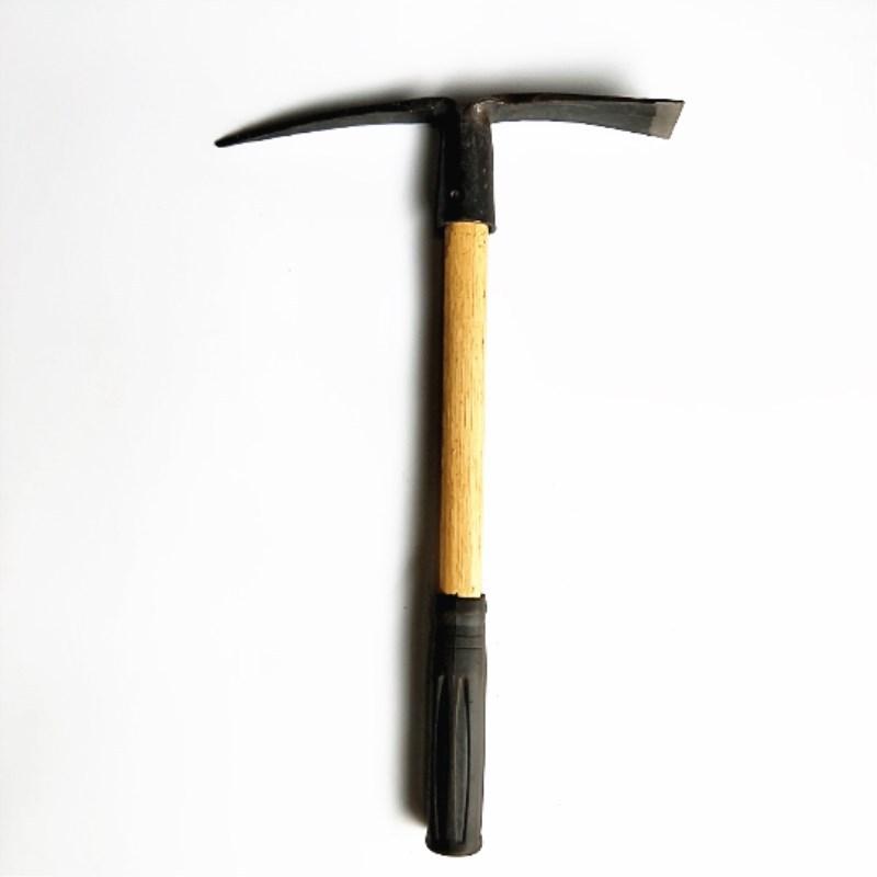 Cuốc đầu nhỏ Dụng cụ làm vườn chống mài mòn .