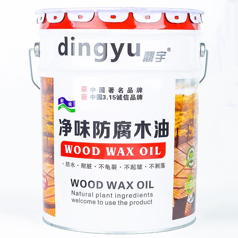 DINGYU Sơn gỗ chống ăn mòn bảo vệ môi trường ngoài trời gỗ sáp dầu đồ gỗ rắn bảo quản gỗ sơn dầu gỗ