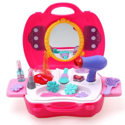 Thị trường đồ chơi Đồ chơi nhà chơi Bowa Đồ chơi giáo dục cho bé gái mới 3-4-6 tuổi Bàn trang điểm t