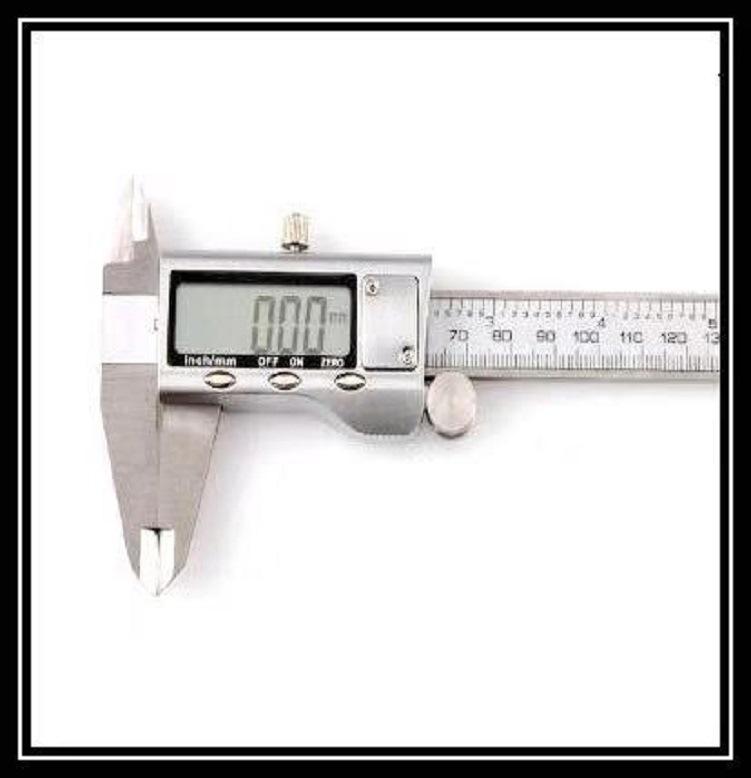 Thước kẹp điện tử Dụng cụ đo caliper kỹ thuật số 0-150mm