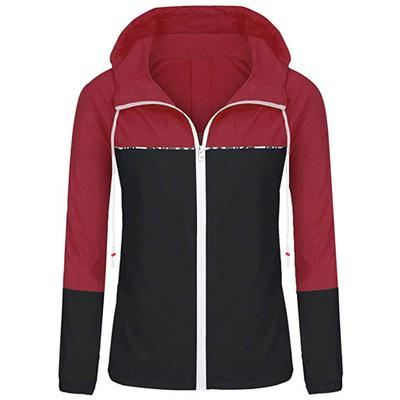 Áo khoác mùa xuân áo khoác mùa xuân và mùa thu thể thao và áo khoác giải trí Ngoại thương nữ xuyên b
