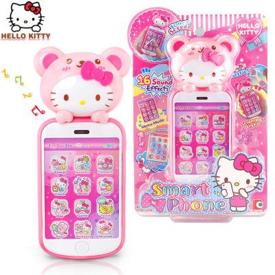 Thị trường đồ chơi Hello Kitty Đồ chơi trẻ em Hello Kitty Điện thoại Cảm ứng Màn hình Thi đua Cô gái