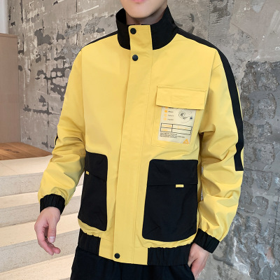 áo khoác 2019 mùa thu mới áo khoác nam thanh niên Phiên bản Hàn Quốc của quần áo áo khoác xu hướng g