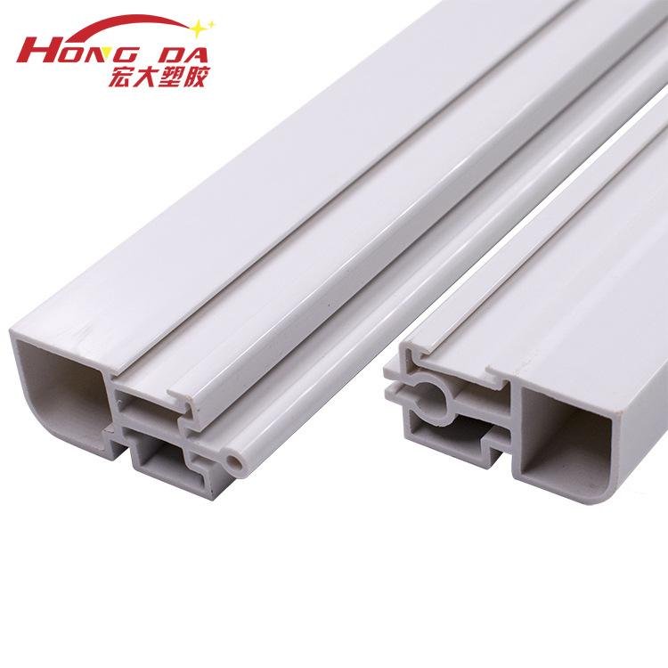 HONGDA Vật liệu dị dạng Cung cấp hồ sơ nhựa PVC chống cháy hồ sơ PVC hồ sơ đùn xử lý nhựa hồ sơ ép đ