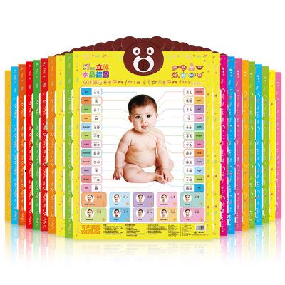 Đồ chơi luyện trí thông minh  Hot   baby early education learning pronunciation bump sound wall map
