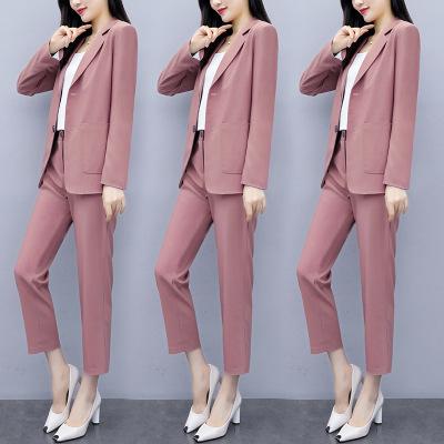 áo khoác Bộ đồ vest nữ 2019 phiên bản mới của Hàn Quốc thời trang giản dị dành cho nữ mùa hè mỏng ph
