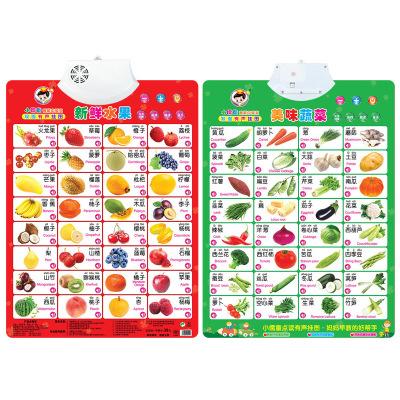 Đồ chơi luyện trí thông minh  Biểu đồ âm thanh hai mặt đồ chơi giáo dục sớm câu đố hai mặt pha lê Tr