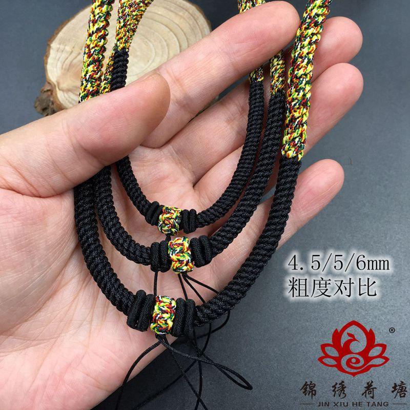 dây đeo Dây chuyền rộng của nam giới có dây thừng rộng, s ợi dây chuyền lớn, tay làm s ợi dây chuyền