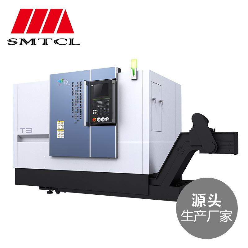 Máy tiện CNC Máy công cụ i5T3.5 / 5050 máy tiện CNC thông minh tốc độ cao mang công nghiệp chiếu sán