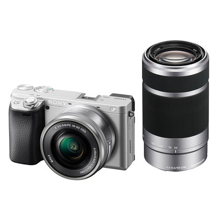 Máy ảnh kỹ thuật số  SONY Sony / Sony ILCE-6400L (16-50 / 55210) Máy ảnh đôi gương đơn A6400 Micro