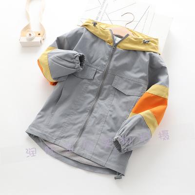 Áo khoác trẻ em  2019 nhà máy trực tiếp mùa đông mới trẻ em lớn áo khoác trẻ em ngoài trời dụng cụ á