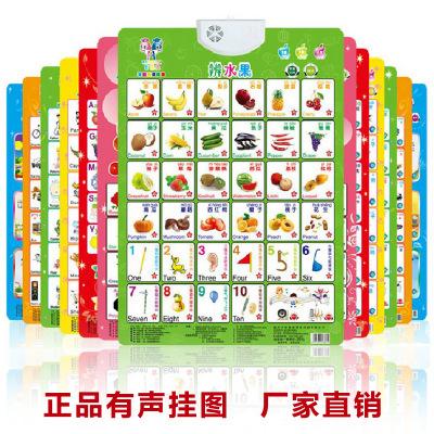 Đồ chơi luyện trí thông minh  Giáo dục sớm giáo dục âm thanh biểu đồ tường Trẻ em bé phát âm giọng h