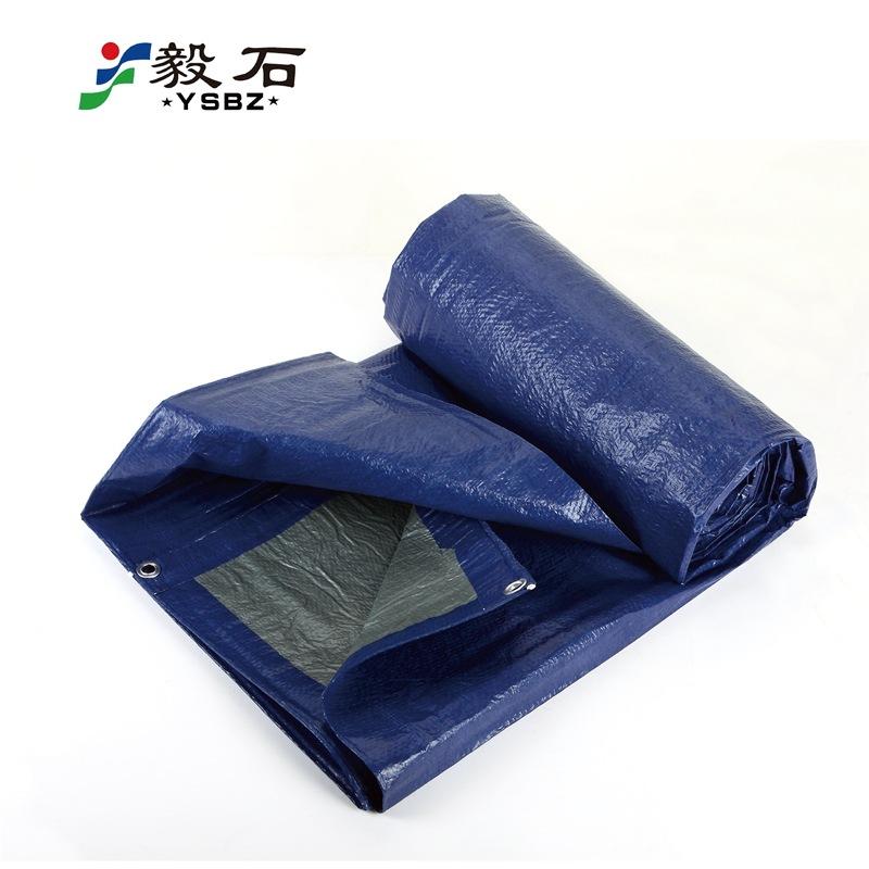 YISHI Bạt nhựa Nhà máy trực tiếp nhựa trong suốt pe vải bạt màu dải vải mưa vải không thấm nước chốn