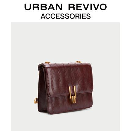 Túi xách nữ thời trang  UR ĐÔ LA REVIVO2019 phụ nữ mới phụ kiện xe thanh lịch túi messenger AG20SB4