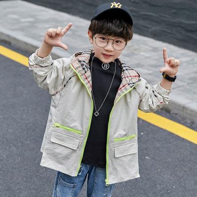 Áo khoác trẻ em  Trong áo bé trai lớn mùa xuân và áo khoác mùa thu 2019 mới mùa thu quần áo trẻ em 1