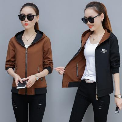 Áo khoác đôi nữ 2019 áo len mới mùa xuân và mùa thu Hàn Quốc áo khoác ngắn mùa thu sinh viên bf Hara
