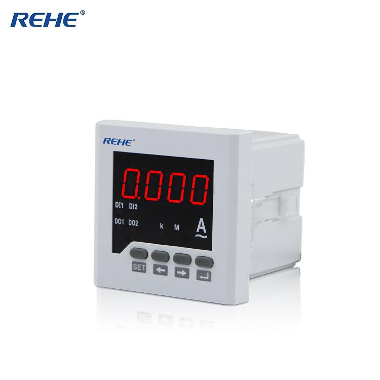 Đồng hồ thiết bị đo 72 * 72 màn hình kỹ thuật số AC một pha ampe kế điều chỉnh