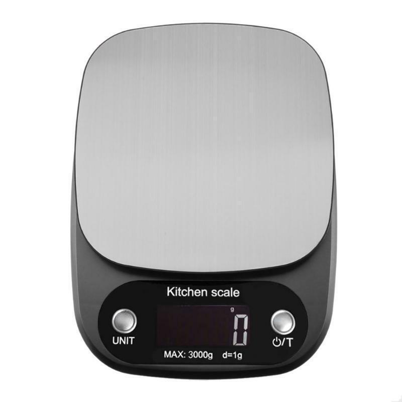 HENGTE Cân điện tử 10kg cho nhà bếp .