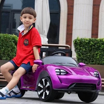 Xe hơi điện bốn bánh dành cho trẻ em .