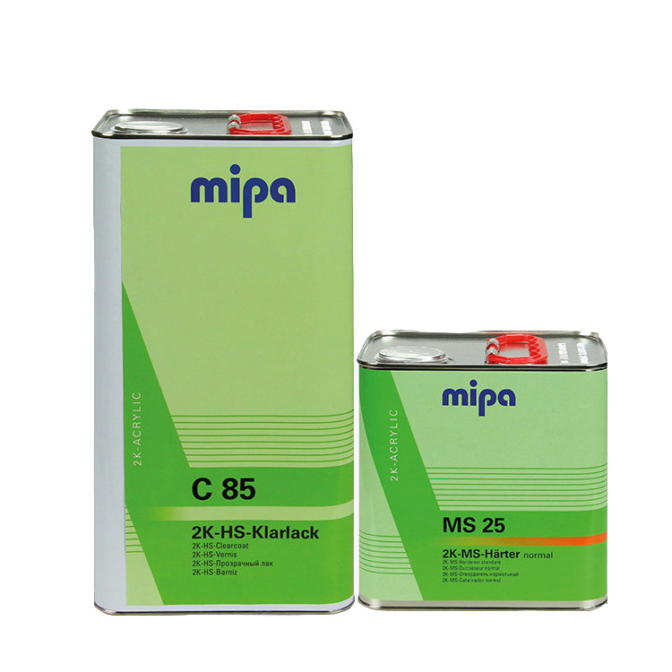 MIPA Sơn xe sơn dầu vecni nồng độ cao 钣 phun sơn Đức Mipa mipa phụ kiện sơn sơn công nghiệp