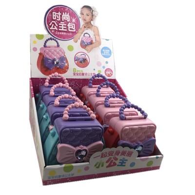 Thị trường đồ chơi Trẻ em thời trang công chúa túi xách tay trang sức hộp cô gái chơi nhà sinh nhật