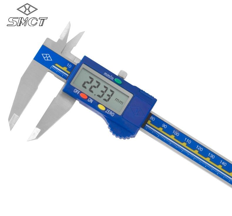 SHANGLIANG Thước kẹp điện tử Caliper kỹ thuật số trên 0-150-200300mm
