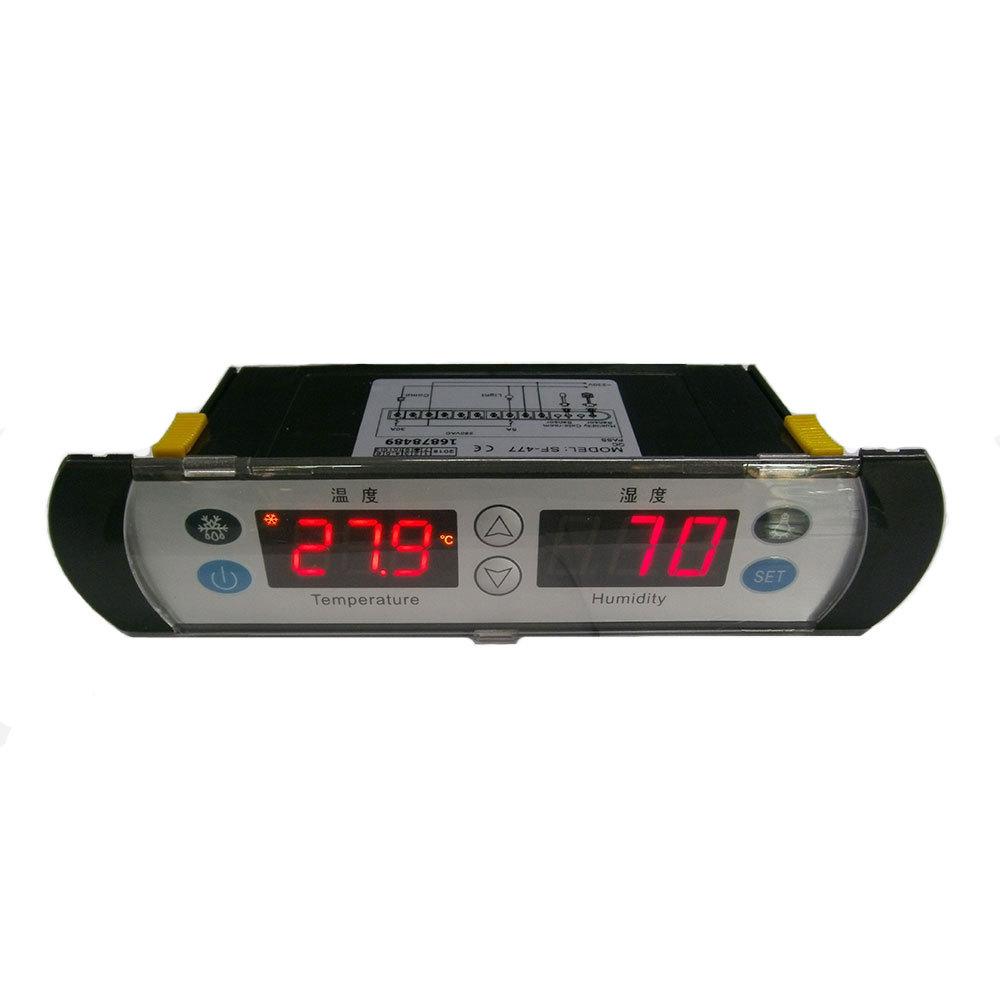 SHANGFANG Đồng hồ đo nhiệt độ , độ ẩm SF-477 nhà máy thiết bị điều khiển chiếu sáng hút ẩm trực tiếp